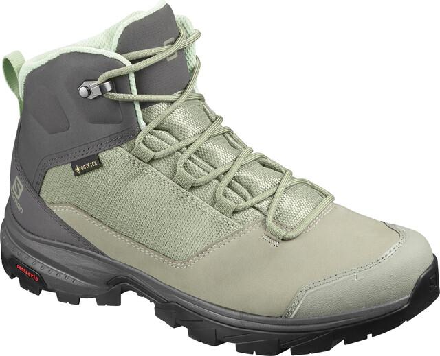 Salomon OUTward GTX Shoes Women shadowmagnetspruce stone